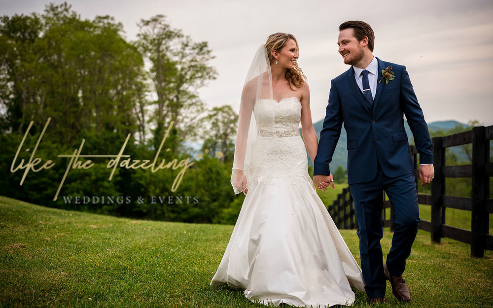 LIKE THE DAZZLING WEDDINGS & EVENTS  A boutique event planning & design company for the Asheville bride. Our personalized approach ensures a celebration that's distinctively you.    Leave a Review