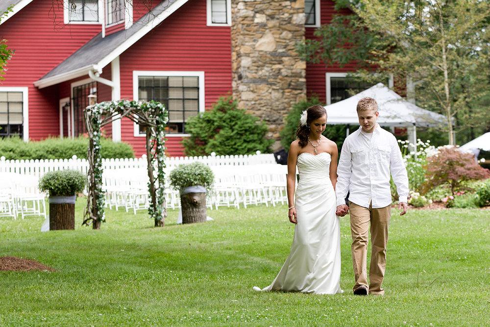 Outdoor Wedding Venue Asheville NC