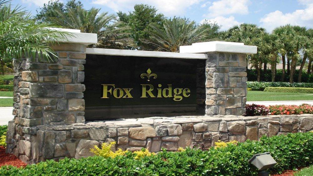 Fox Ridge - Parkland, FL