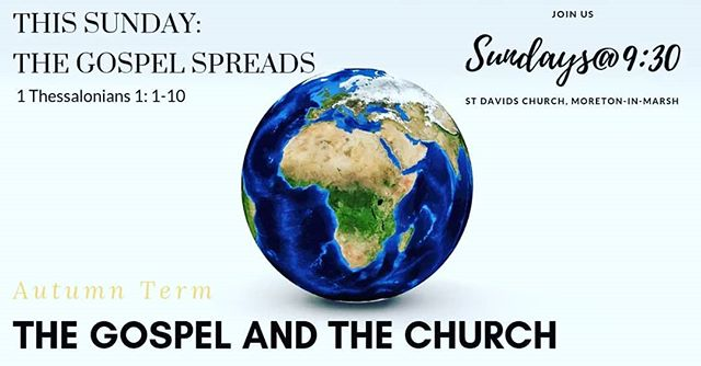 Join us this Sunday as we begin our new series of talks 'The Gospel and the Church'. We will be exploring Pauls letter in 1 Thessalonians, in our first talk 'The Gospel Spreads'. We look forward to seeing you all from 9:15am for coffee, pastries and the warm welcome. #cotswolds #jesus #faith #church #angilcan #gospel #moretoninmarsh #gloucestershire #truth