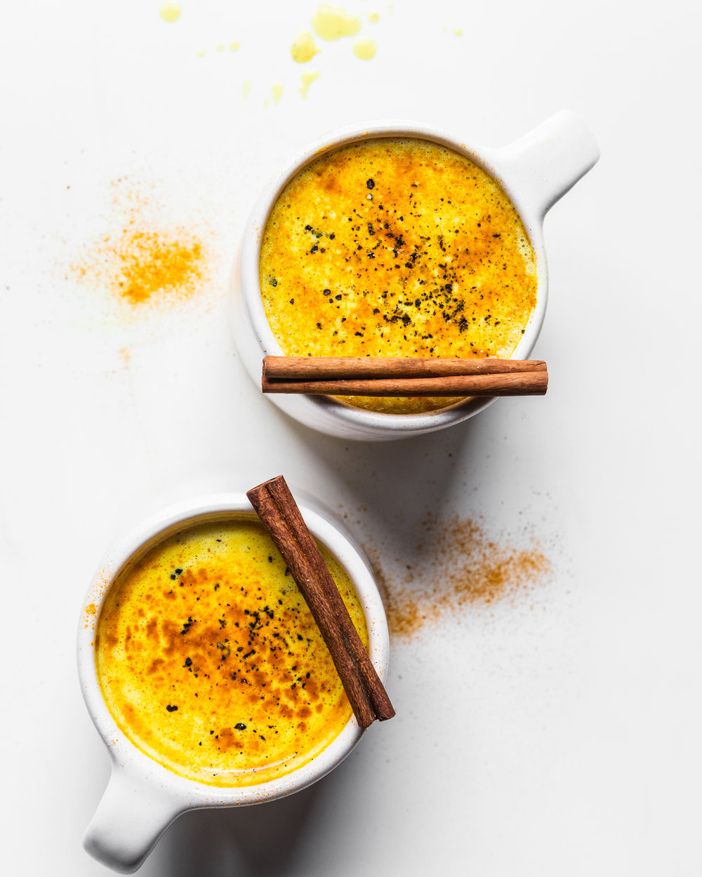 Turmeric Milk with Black Pepper and Adaptogens