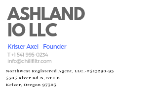AIO is the parent company for CHILLFILTR. Official business address is above. I write mainly out of my home office in downtown Ashland.
