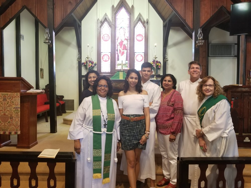 Christ Church recognizes one of its own. Sarah Mathews graduated from Seminole High School in The Academy of Health Magnet Program on May 25, 2018. Sarah will attend Seminole State College in the fall and plans to go onto Veterinary School. Sarah is the recipient of several academic medals. She has played Lacrosse and marching band for 4 years and served as quarter master. Sarah has practically grown up at Christ Church where she participated in many church activities. She is a Lay Reader and Acolyte.  We wish Sarah God's Blessings as she embarks on a new journey.    Best wishes from The Clergy, Vestry and Members of Christ Episcopal Church.