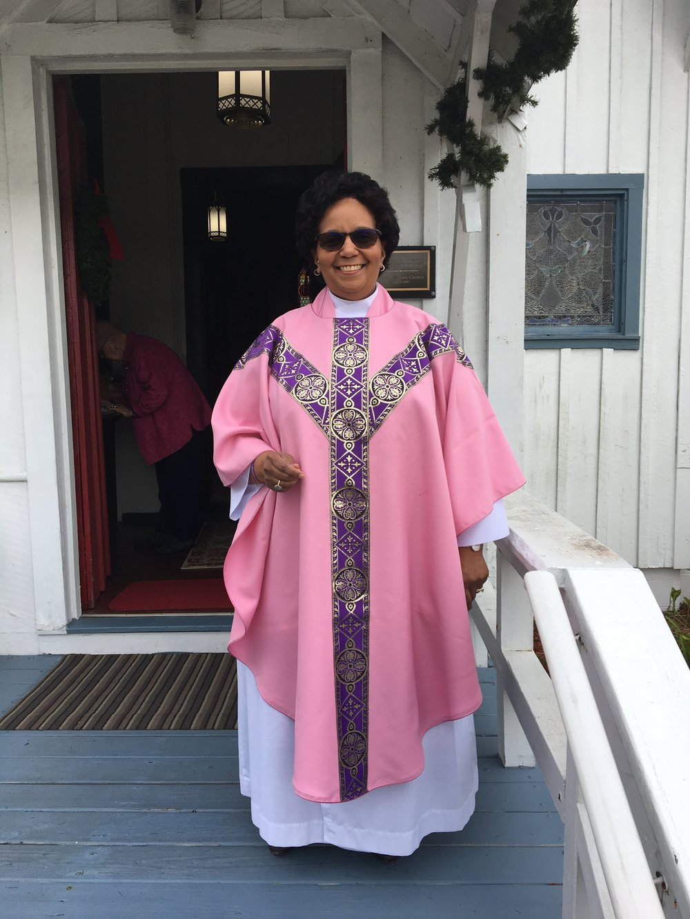 The Reverend Mother Michelle Roach