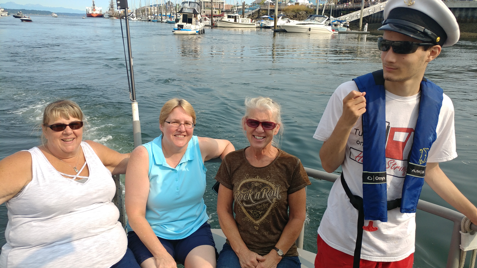 Heart Stings on a Harbor Tour (Family Photos)