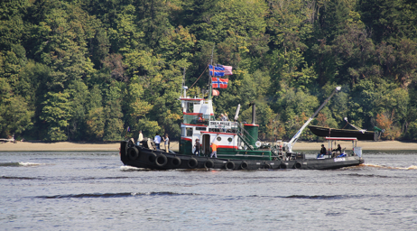 Tug Thea Belle.  Photo courtesy LG Evans Maritime Images