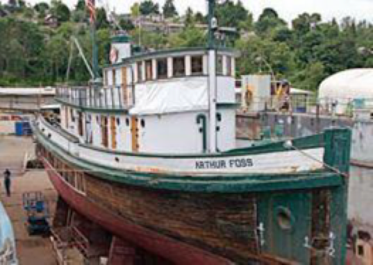 Arthur Foss (Photo courtesy of LG Evans Marine Images)
