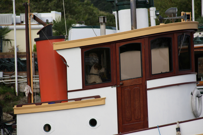Tug Atka's Wheelhouse (lg Evans Marine Images)