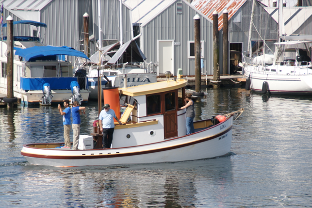 Atka heads to the races at Olympia Harbor Days 2016 (OHD Stock Photo)