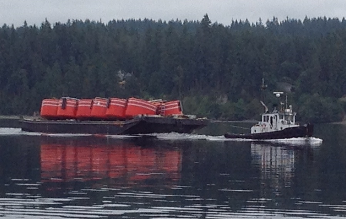 Reliable at Work in Hood Canal (photo by Cliff Center)