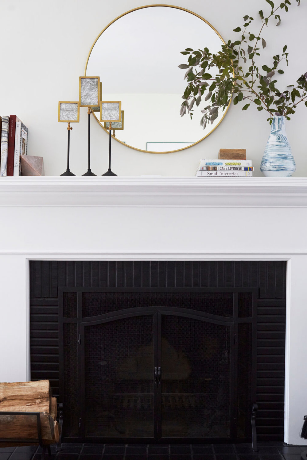 Photo by  Zeke Ruelas  | From  Silver Lake Hills Living Room Reveal  by  Emily Henderson