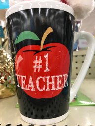 - Your teacher does not want this mug.