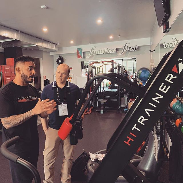 Our friend @georgehyphenanthony is the best at explaining how the #hitrainer will make your #fitnessstudio more profitable !
