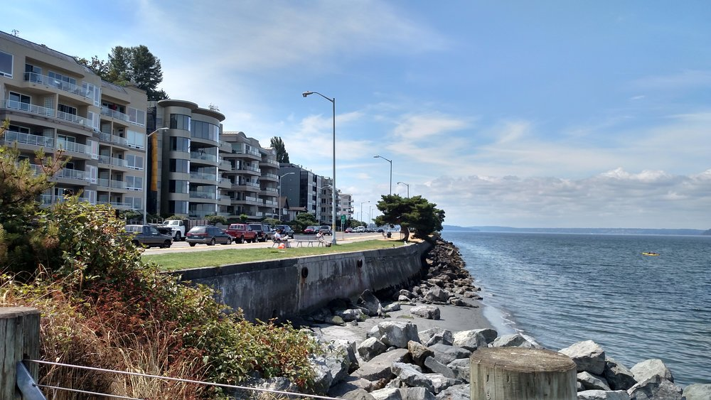 Seattle, WA: coastal communities are already experiencing the effects of sea level rise