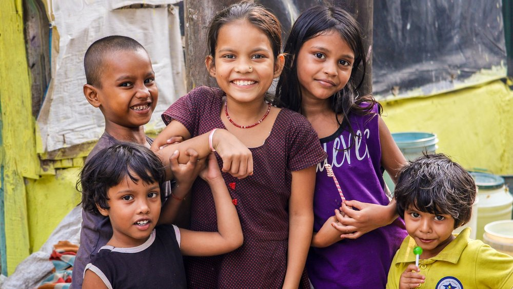 Children in Kohlkata, India. Photo courtesy of Loren Joseph.