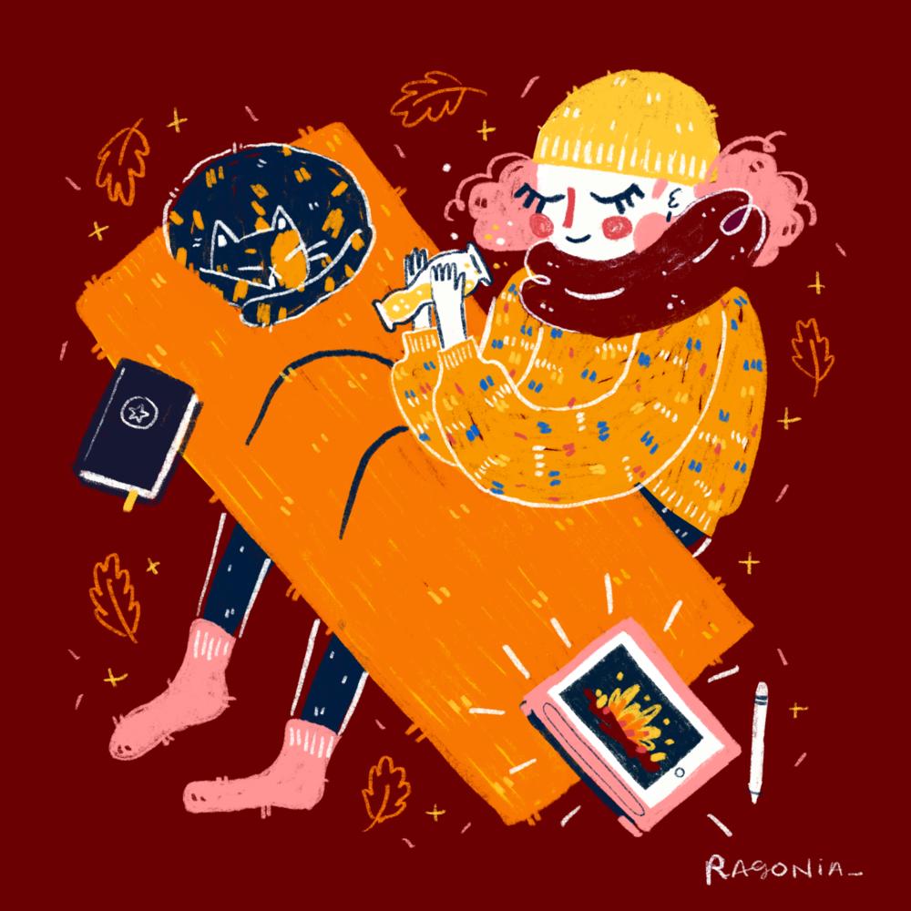 Procreate Digital Illustration, 2018