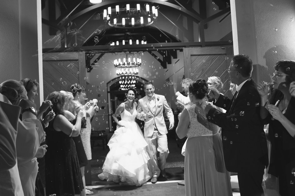 Frankie Leland Events Mission San Luis Bubble Wedding Exit.jpg