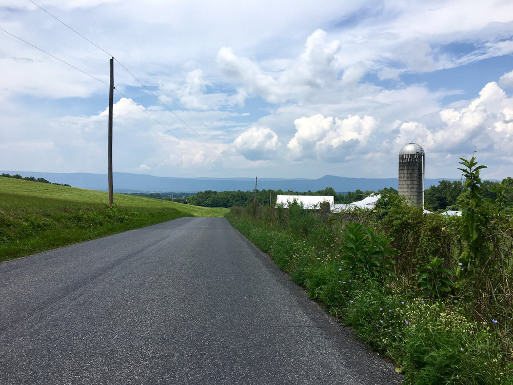 The Luray Triathlon offers gorgeous views and difficult hilly terrains.