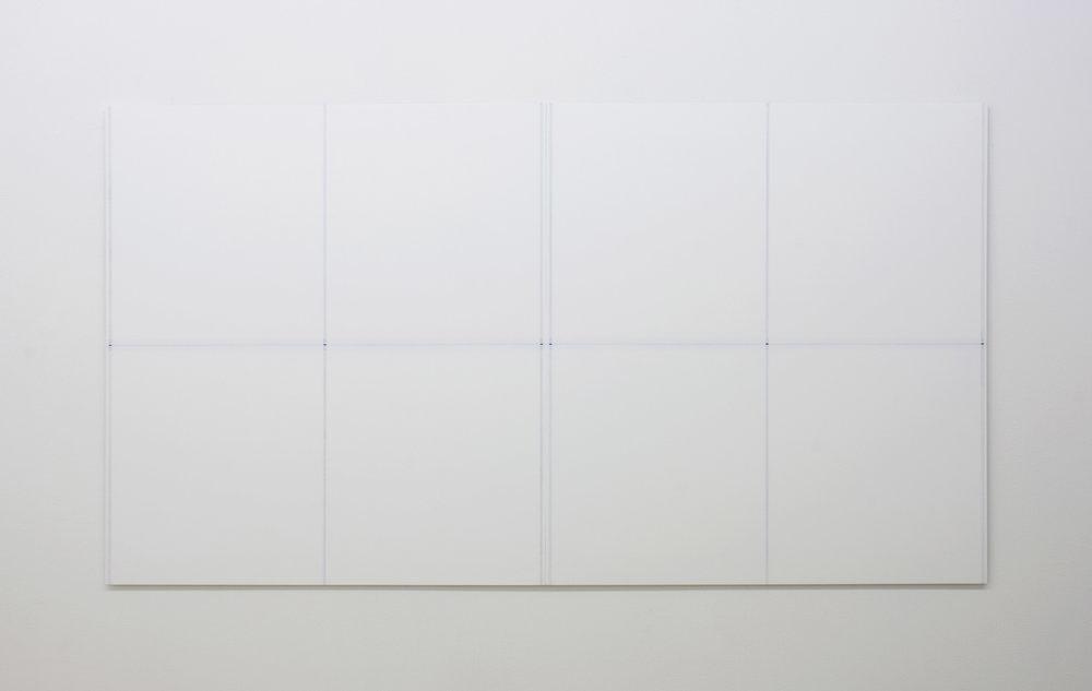 "Untitled, 2017   39.25 x 72.25""   99.7 x 183.5cm"