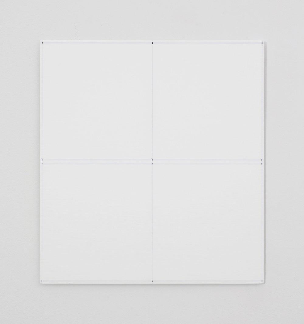"Untitled, 2017  16.88 x 15.5""  43 x 39.5cm"