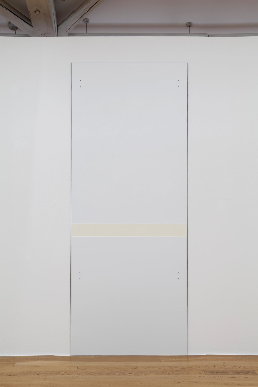 """Mica , 2007/2010  108 x 43.25""""  274.3 x 110cm"""