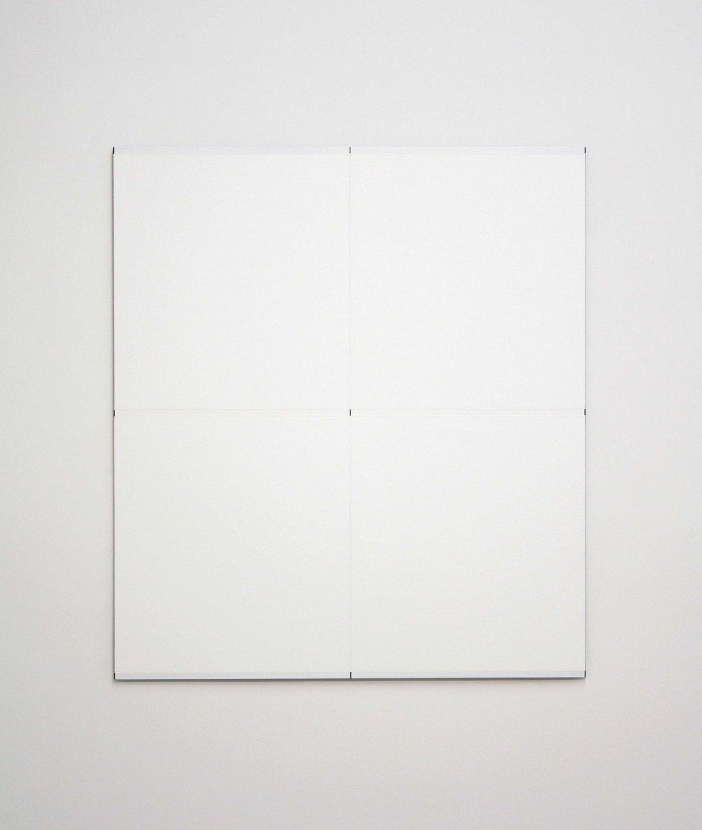 "Untitled, 2012   36 x 32""   91.5 x 81.3cm"
