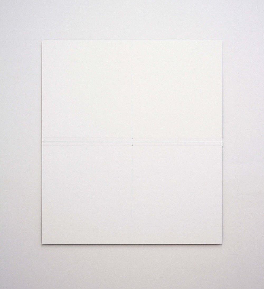 "Untitled, 2012  48 x 42.5""   122 x 108cm"