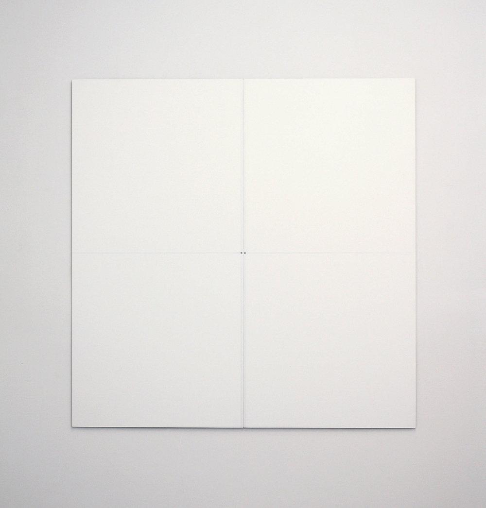 "Untitled, 2013   48 x 47.25""   122 x 120cm"