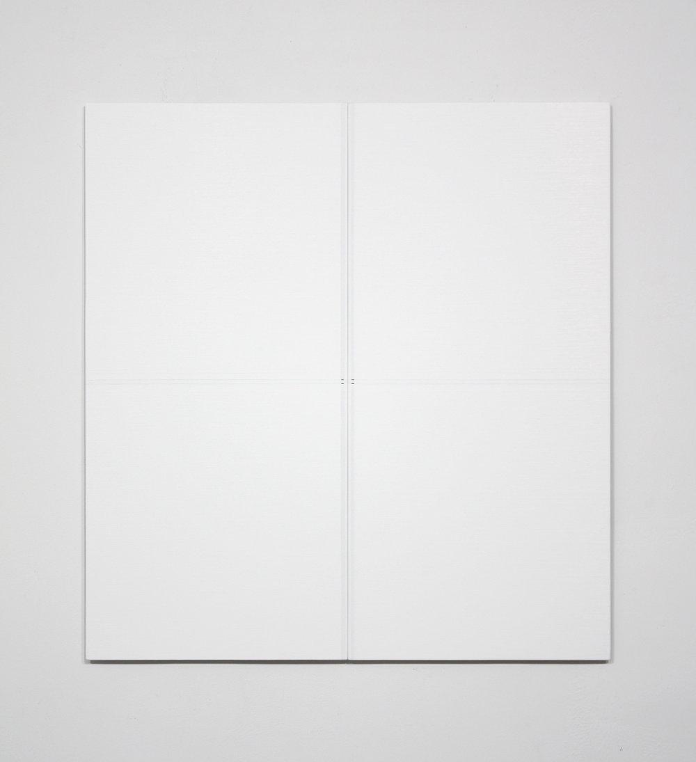 "Untitled, 2014   24.6 x 23.2""   62.5 x 59cm"