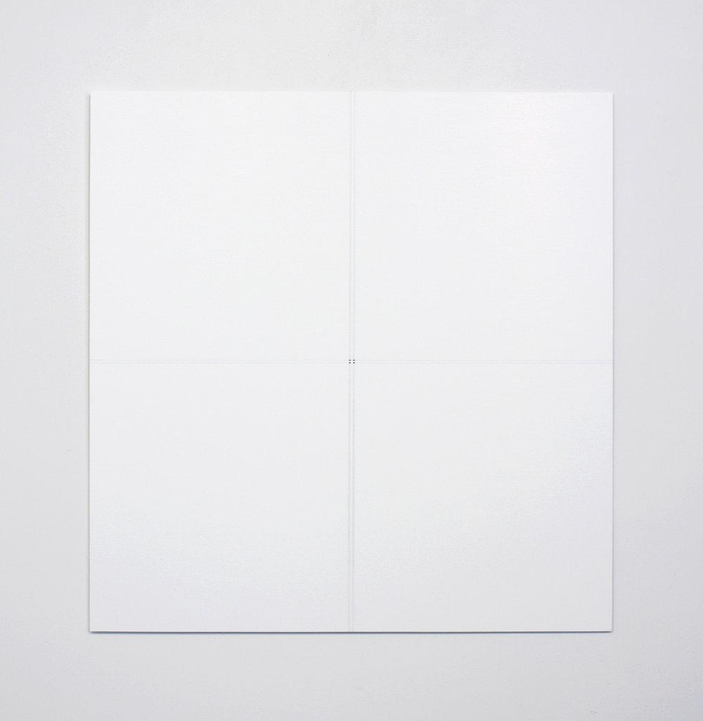 "Untitled, 2014   32 x 31""   81.3 x 78.7cm"
