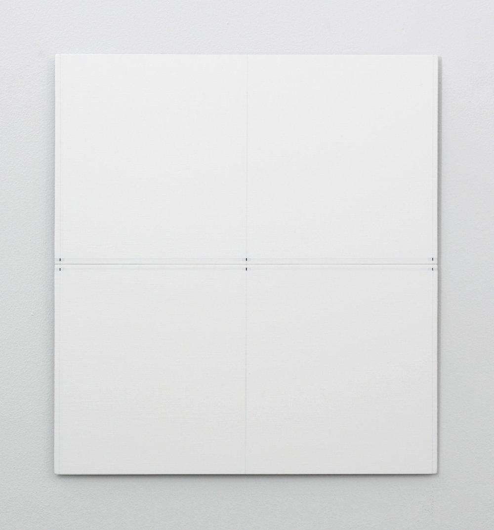 "Untitled, 2016   16 x 14.62""  40.6 x 37.2cm"
