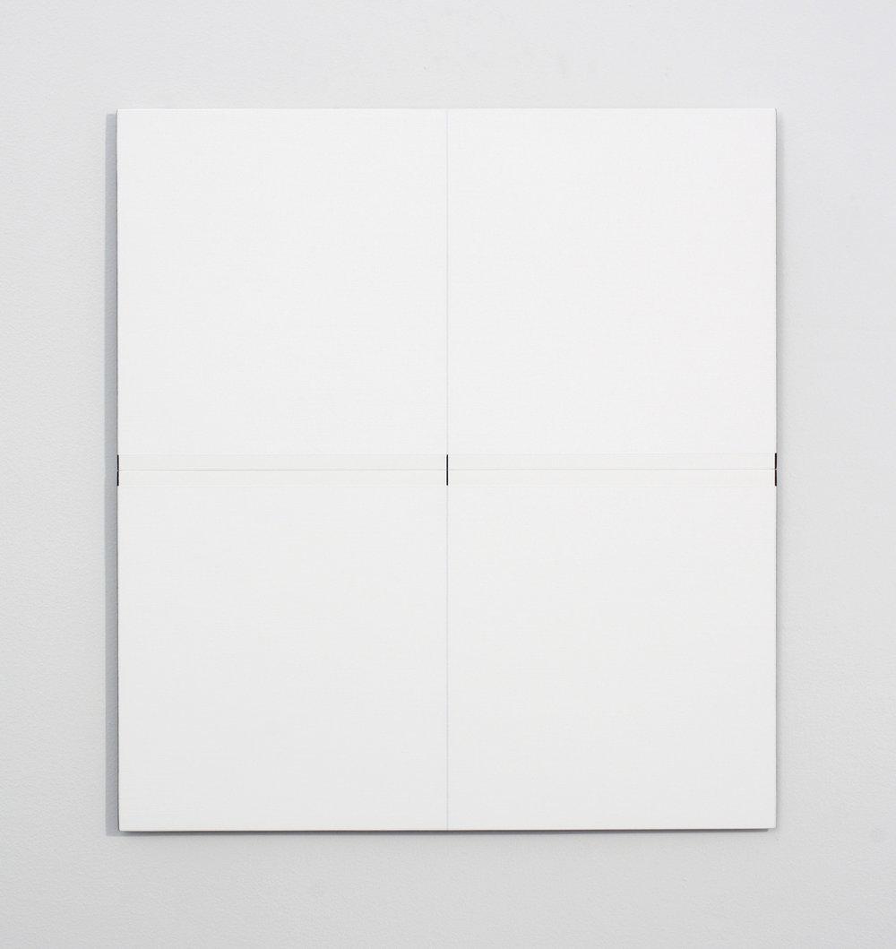 "Untitled, 2016   20.12 x 18.75""   51 x 47.6cm"