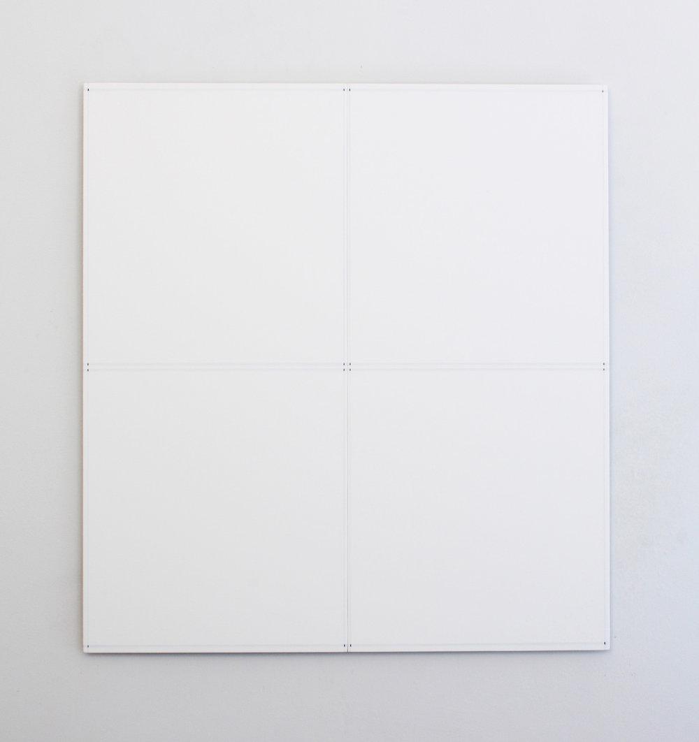 "Untitled, 2016  26 x 24""  66 x 61cm"