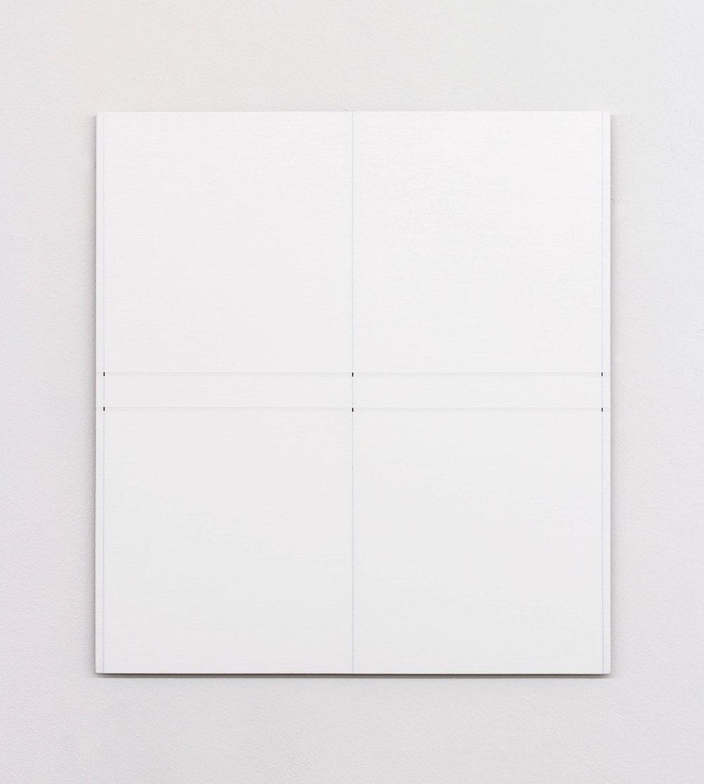 "Untitled, 2015   17.6 x 16.1""   44.7 x 40.8cm"