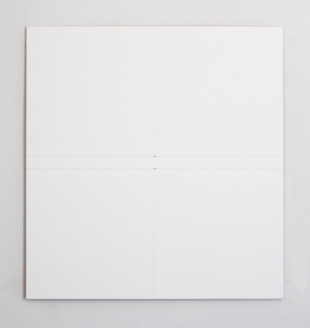 "Untitled, 2014   24 x 22.62""   61 x 57.5cm"