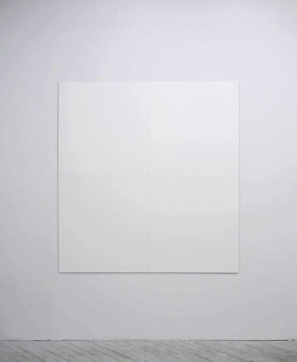 "Untitled, 2013   72 x 68""   183 x 172.7cm"
