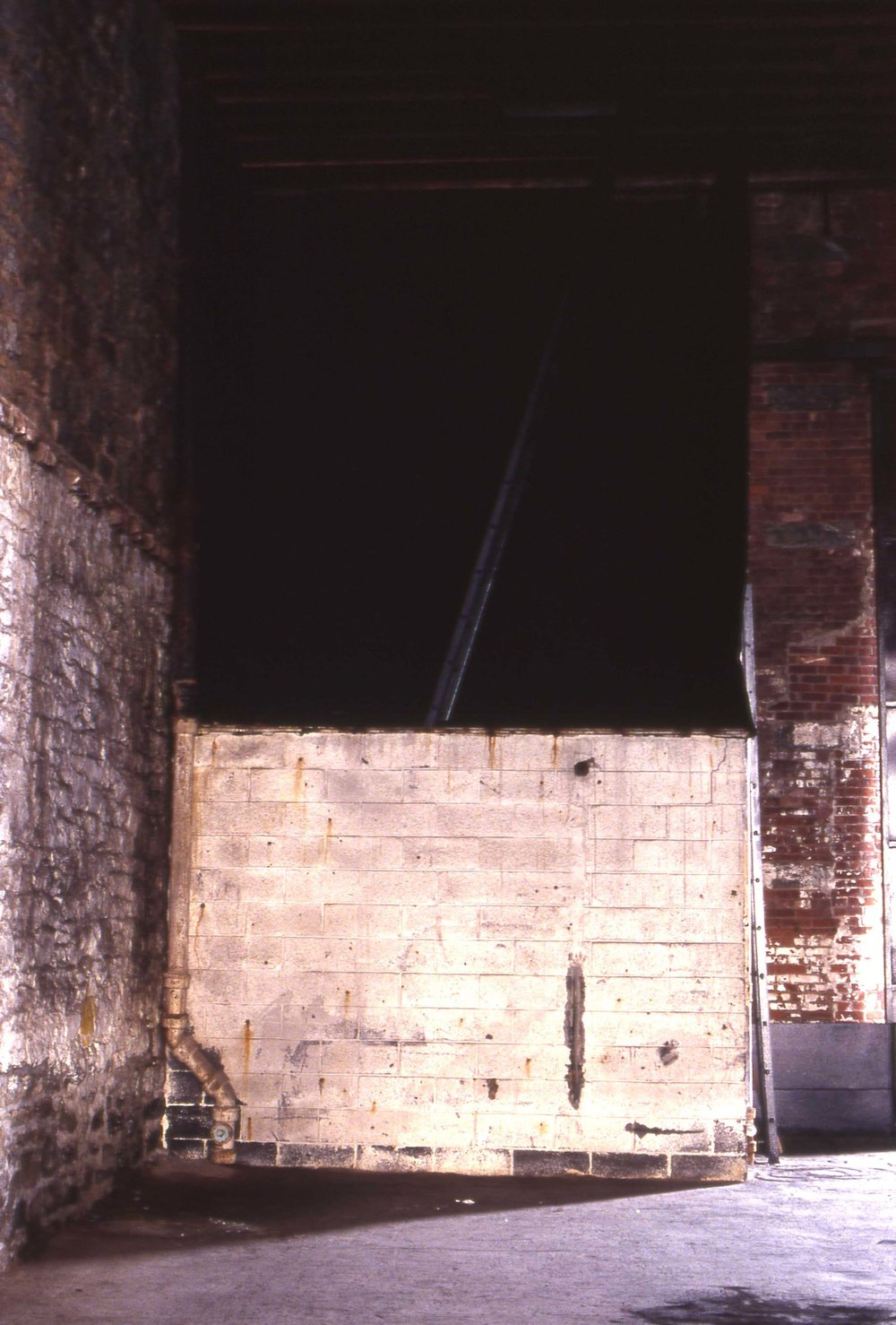 Pier Darkness , 1993   Brooklyn, NY