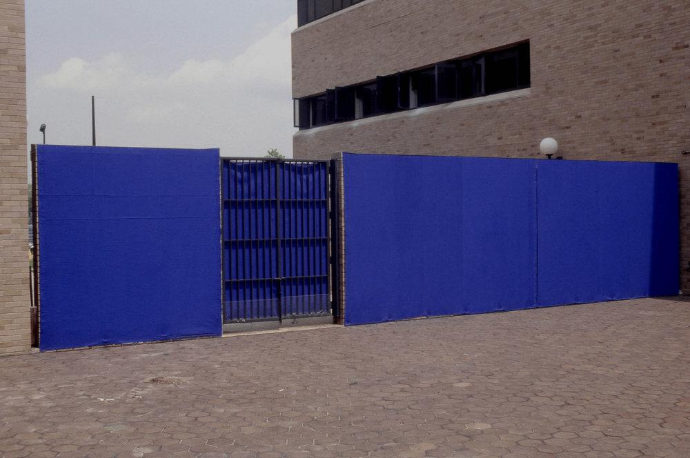 See Blue Wall,  1993   Kingsborough Community College, Brooklyn, NY