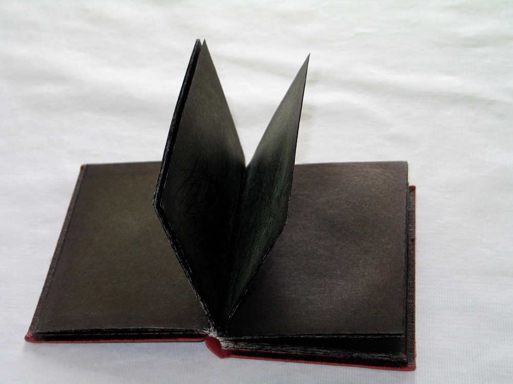 Black Scribble Book