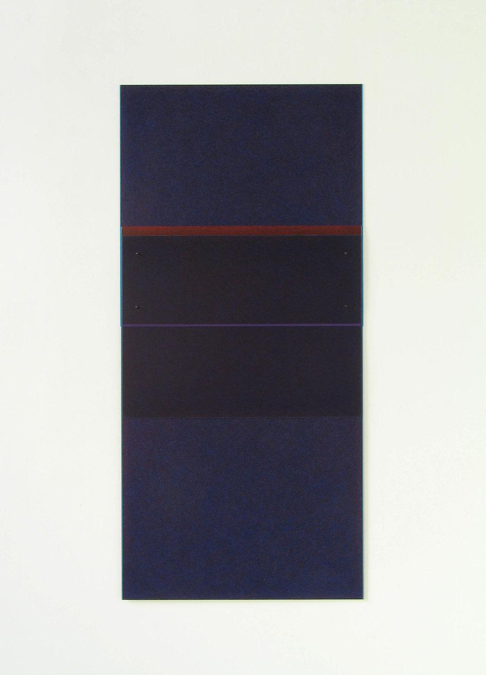 "Drawing 1, 2007   42.4 x 20""  107.7 x 50.8 cm"