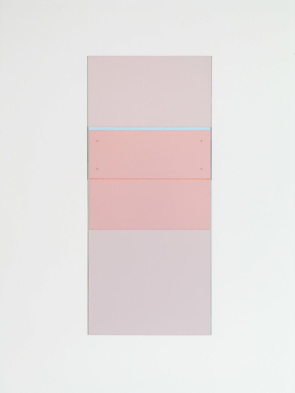 "Ios, 2006/2009  43.5 x 18.8""  110.5 x 48cm"