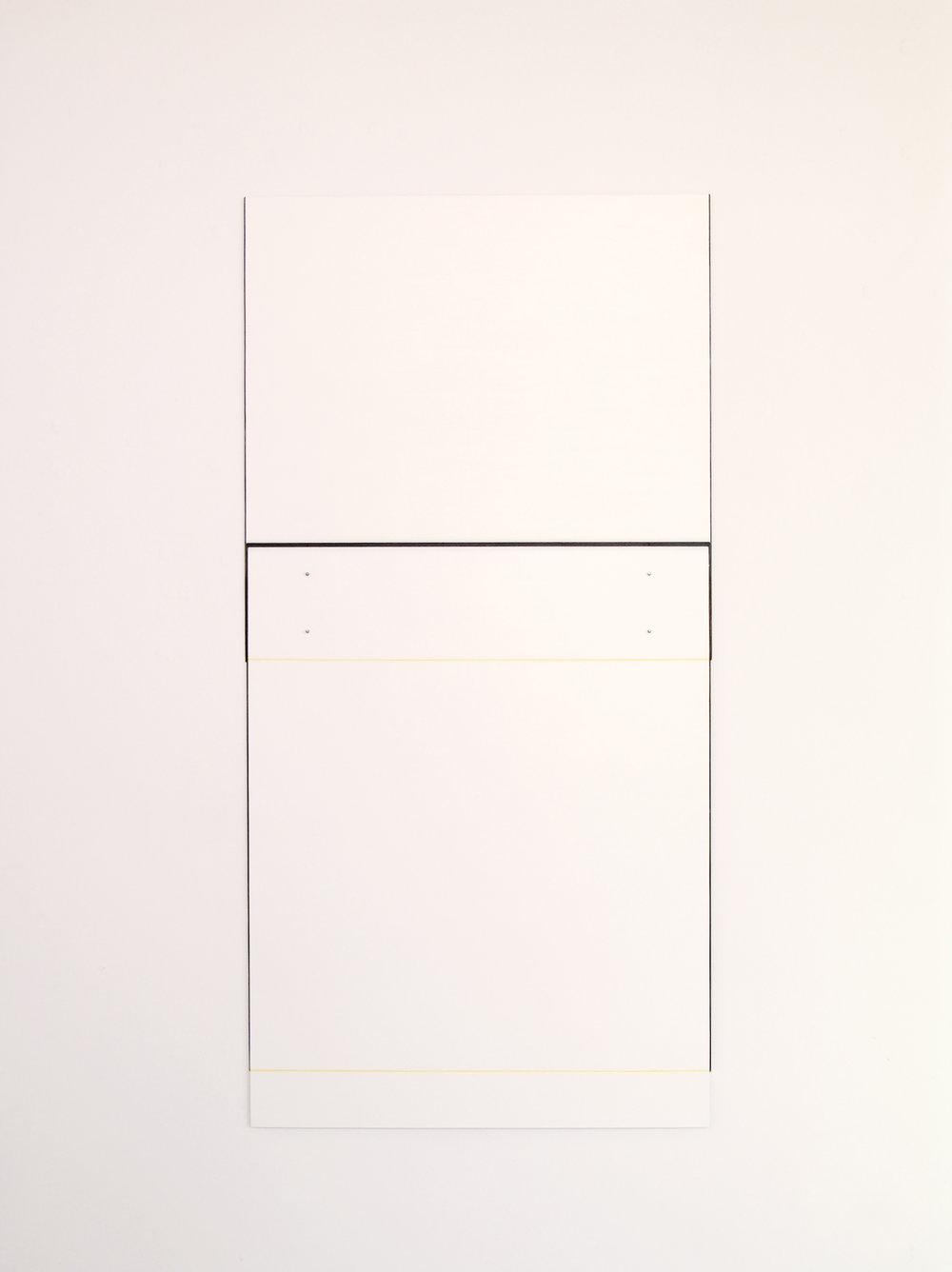 "Untitled, 2010  51.5 x 25.75""  130.8 x 65.4cm"