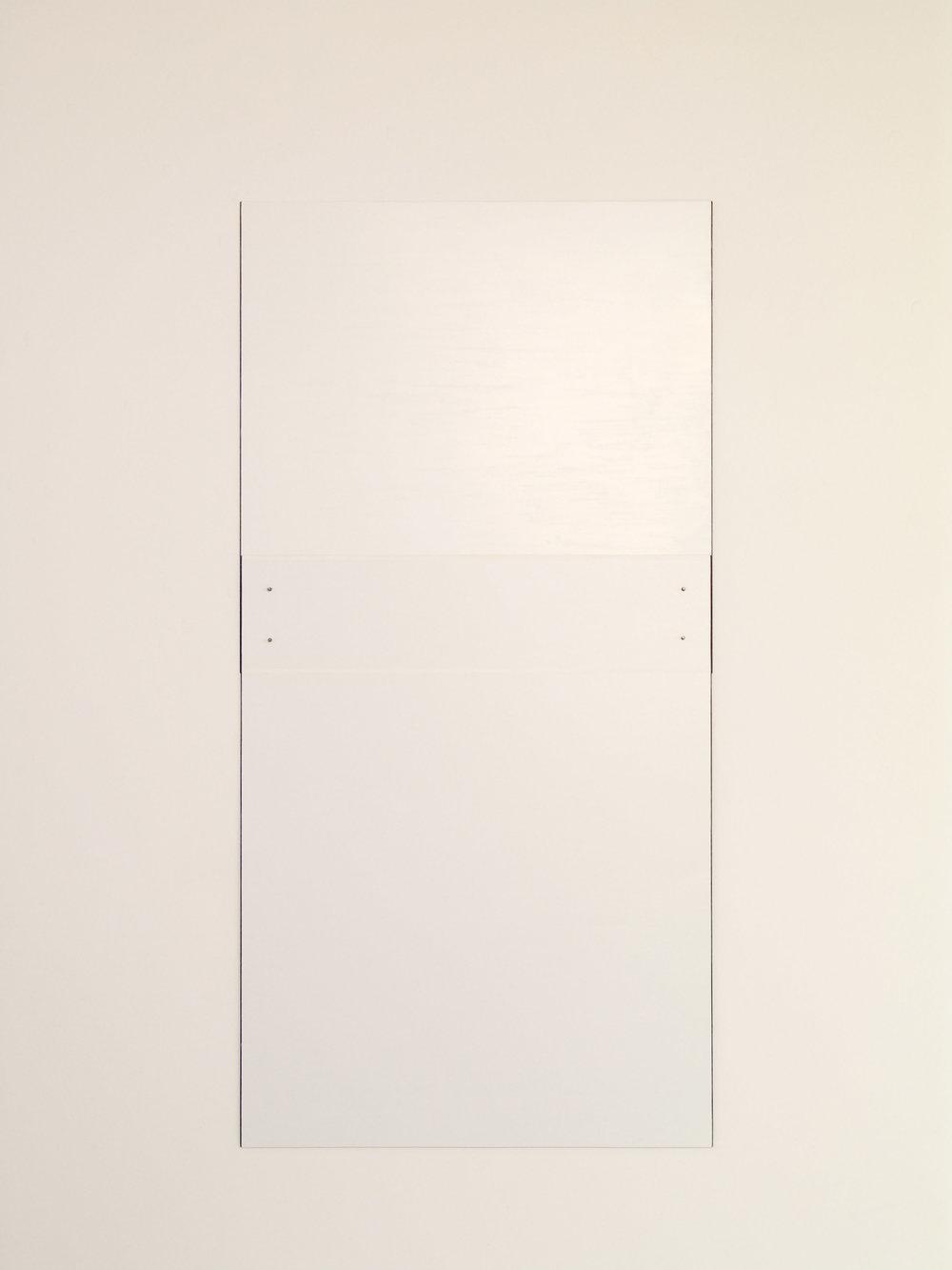 "Untitled, 2010  49 x 24.5""  124.5 x 62.2cm"