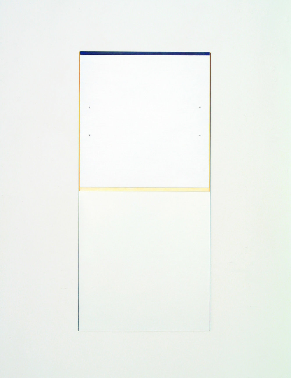 "Untitled, 2007  45 x 21.25""   114.3 x 54cm"