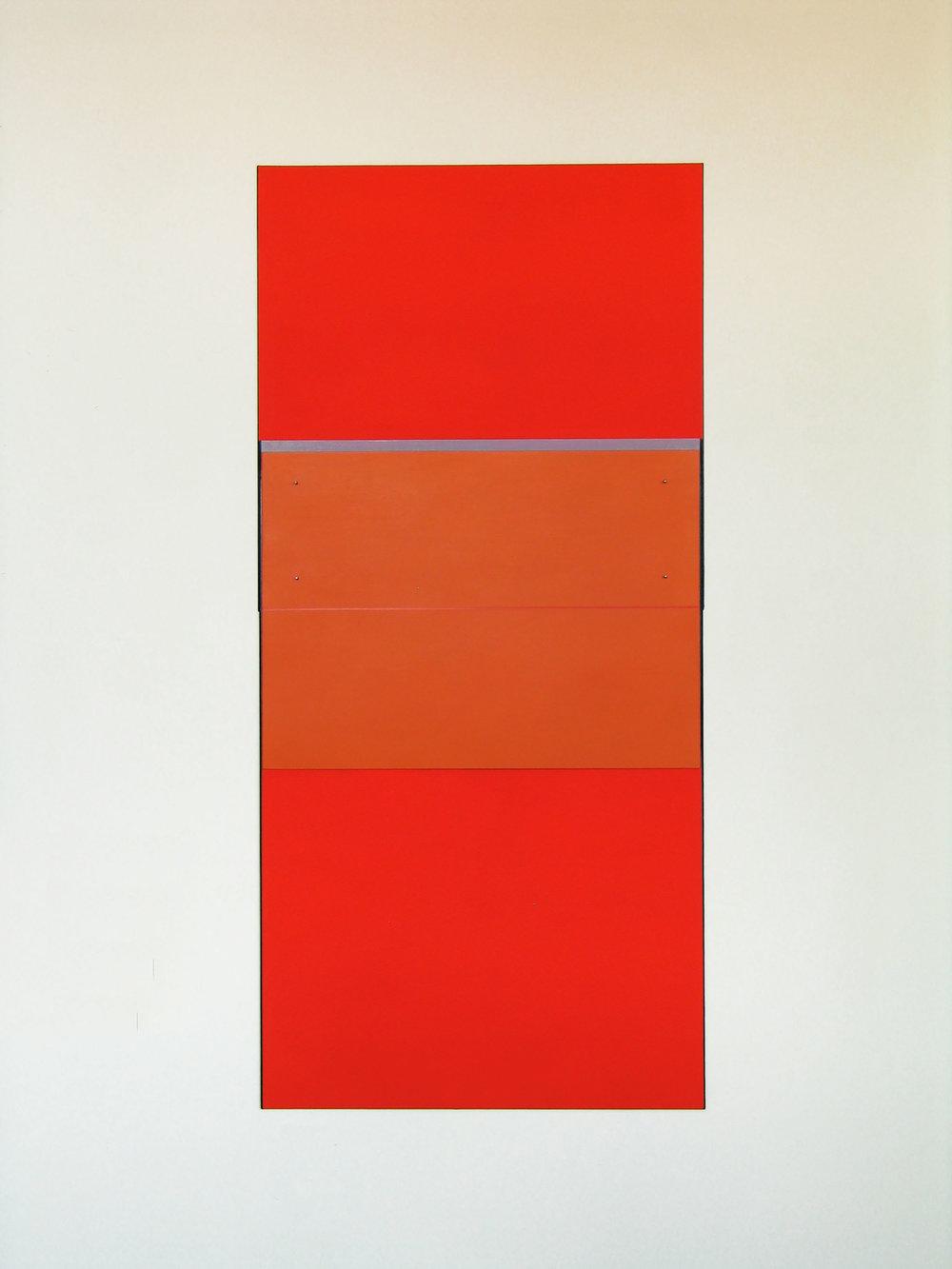 """Addendum,2008  61 x 28.9""""   155 x 73.3cm"""