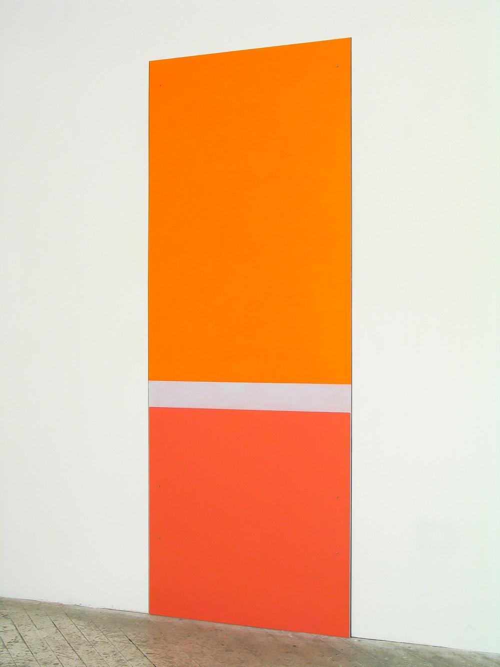 "Untitled, 2007  96 x 36""   244 x 91.5cm"