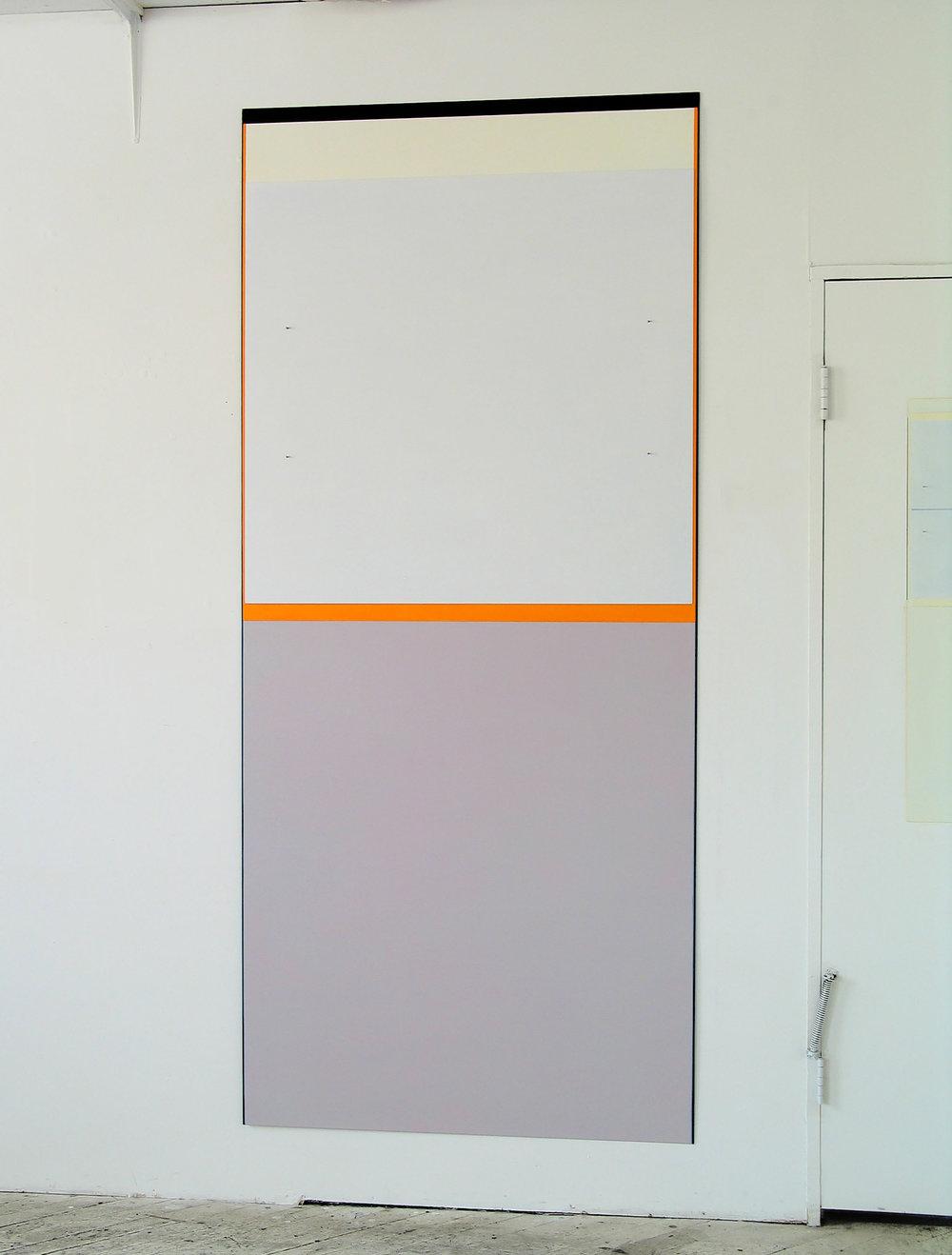 """Plenum, 2005  96 x 42.62""""   244 x 108.2cm"""