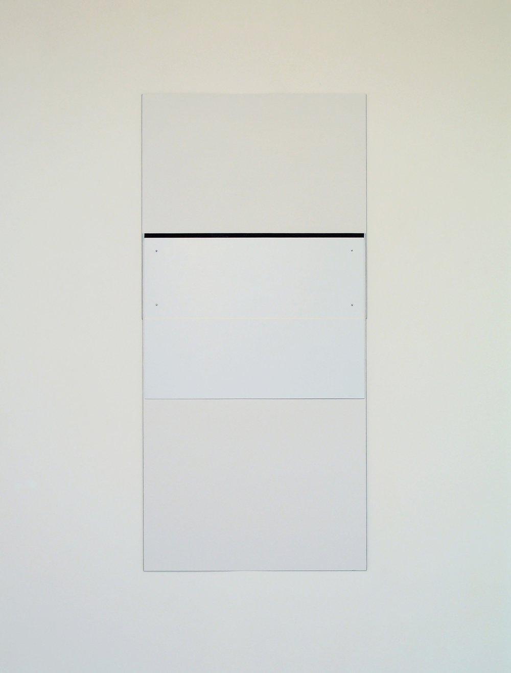 "Untitled, 2009  57.25 x 27""  145.5 x 68.5cm"