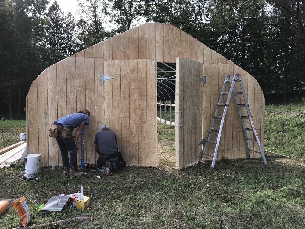2018 East Greenhouse Endwall Complete