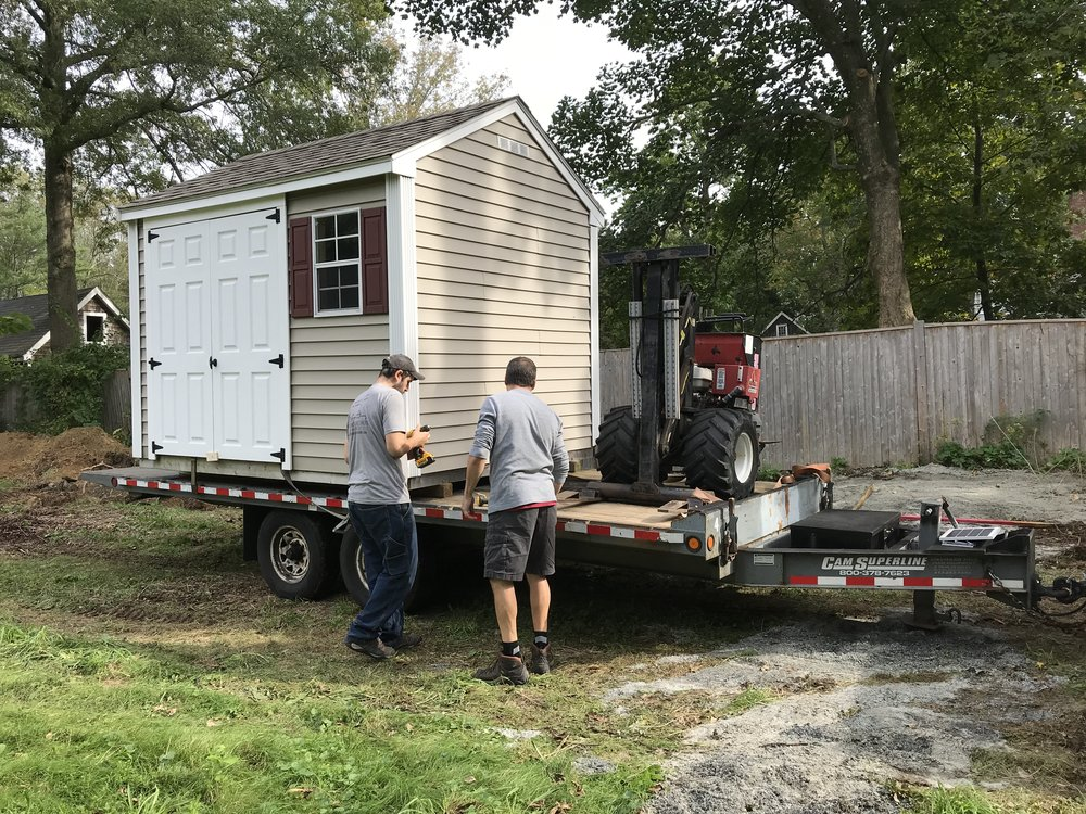 2018 Electrical + Well House Shed Install